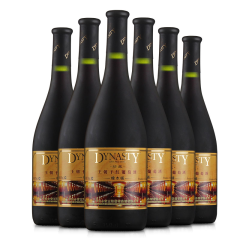 Dynasty王朝 珍藏橡木桶干红葡萄酒 750ml*6瓶 整箱装