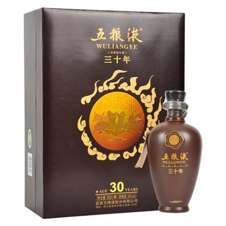 50°五粮液三十年陈酿礼盒装500ml(2009年)