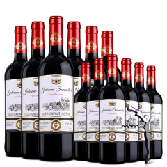 醉梦红酒 法国原瓶进口红酒歌瑞安侍酒师干红葡萄酒共12支整箱