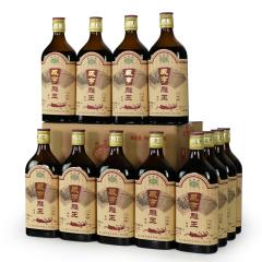 绍兴黄酒八年陈咸亨雕皇 整箱装500mlx12瓶装 半甜花雕酒