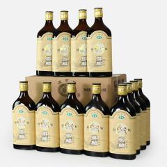 绍兴黄酒咸亨御雕10陈酿 整箱500mlx12瓶 半甜雕皇风味泰雕