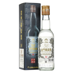 58°金门高粱酒 白金龙台湾白酒300ml