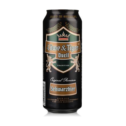 德国狮虎争霸黑啤酒500ml