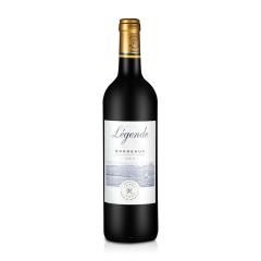 法国红酒拉菲传奇波尔多法定产区红葡萄酒750ml(ASC正品行货)