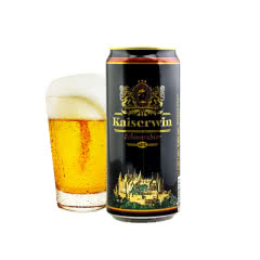 4.9°德国凯撒啤酒黑啤950ml
