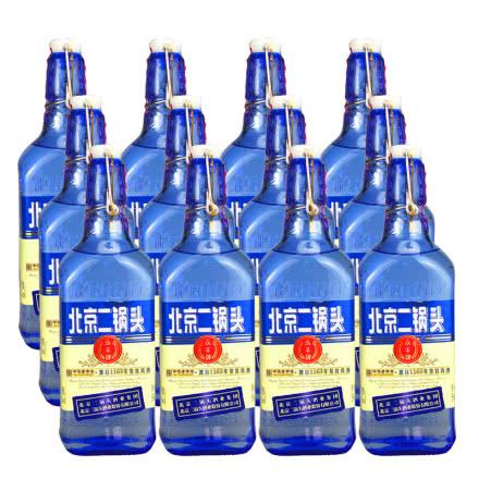 42°永丰牌北京二锅头出口型小方瓶500ml(12瓶装)