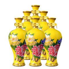 52°西凤酒国花瓷黄瓶100ml(6瓶装)