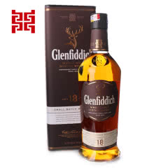 格兰菲迪18年单一纯麦威士忌700ml