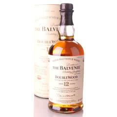 进口洋酒 Balvenie百富12年单一麦芽威士忌酒 双桶陈酿威士忌700ML