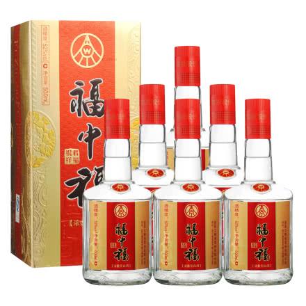 52°五粮液(股份)福中福祝君祥福500ml(2012-2013年)(6瓶装)