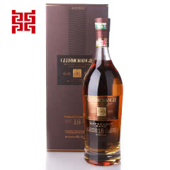 43°英国格兰杰18年高地单一麦芽苏格兰威士忌700ml