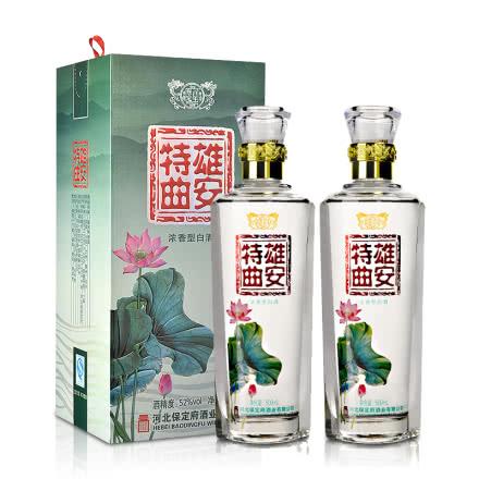 52°百年保定雄安特曲 500ml(双瓶装)