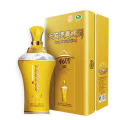 52°天佑德青稞酒青海互助海拔4600高原清香型白酒500ml