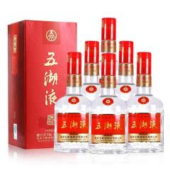 52°五粮液股份公司 五湖液 整箱装白酒 500ml(6瓶装)