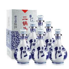 52°百年牛栏山二锅头青花瓷500ml*6瓶装 白酒整箱