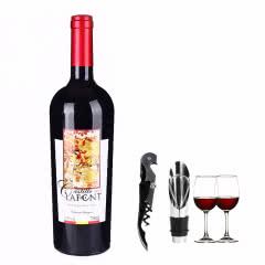 13.5°智利原瓶进口拉芙德单支750ml豪华套餐送酒具4件