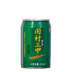 【手工米酒】12°固村三甲糯米酒(半甜黄酒二级)罐装310ml