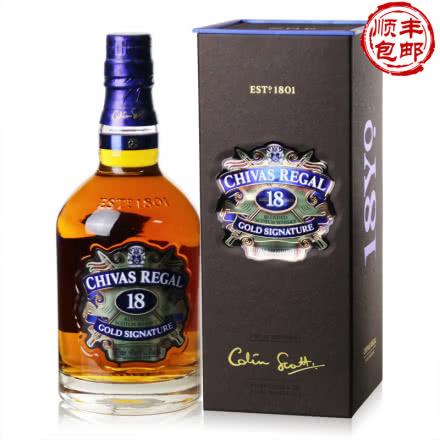 40°芝华士18年苏格兰威士忌750ml