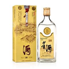 【90年代早期】38°董酒黄标500ML董香型老酒白酒