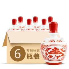 42°武酒坛藏十年浓香型白酒500ml(6瓶装)