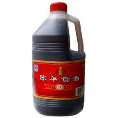 绍兴特产黄酒手工陈年贡酒塔牌贡酒三年陈3L桶装低糖干型黄酒