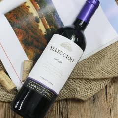 干露酒庄 智选梅洛干红葡萄酒750ml 智利原瓶进口