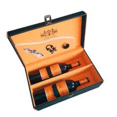 【红酒礼盒】法国波尔多梅多克产区中级庄爱士高古堡红葡萄酒750ml*2