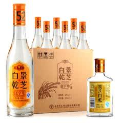 52°景芝老字号500ml(6瓶装)+52°景芝白干100ml