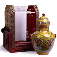 绍兴黄酒古越龙山20年陈花雕酒 年年锦绣 2.5L礼盒整箱装