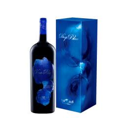 山西怡园酒庄深蓝2011年份1.5L*1 混酿葡萄酒 礼盒装