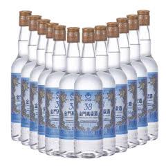 【京东配送】38°金门高粱酒蓝金龙台湾白酒整箱500ml(12瓶装)