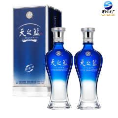 42°洋河蓝色经典天之蓝375ml(双瓶装)
