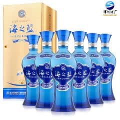 42°洋河蓝色经典海之蓝375ml(6瓶装)