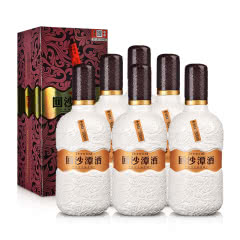 【亲民好酒】52° 回沙潭酒  固态纯粮 酱香型白酒  500ml*6整箱
