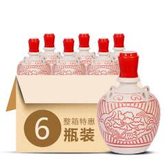 52°武酒坛藏六年浓香型白酒500ml(6瓶装)