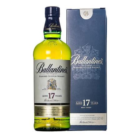 40°百龄坛17年苏格兰威士忌750ml