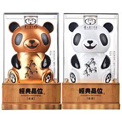 52°茅台集团习酒公司经典品位盈盈熊猫酒浓香型白酒礼盒1.5L(2瓶装)