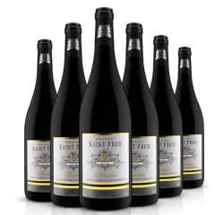 法国红酒原瓶进口勃艮第产区圣菲罗干红葡萄酒 750ml*6