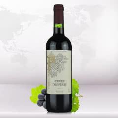 法国原瓶原装进口巴约纳之父干红葡萄酒 750ml*1瓶