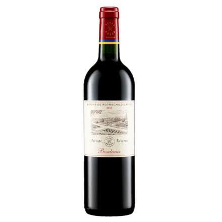 法国进口红酒 拉菲(LAFITE)珍酿波尔多干红葡萄酒750ml(ASC)