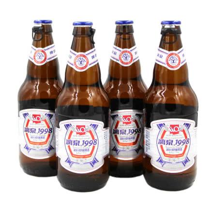 8度桂林漓泉啤酒1998小度特酿500ml(4瓶装)