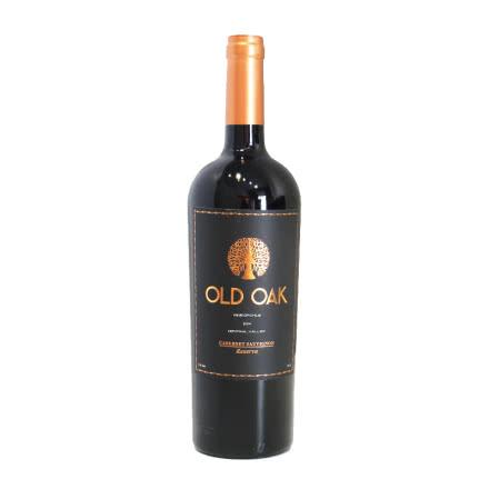 智利老橡树珍藏赤霞珠干红葡萄酒 750ml单支装