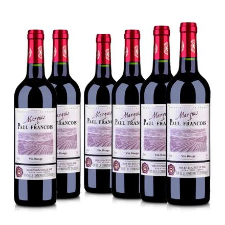法国(原瓶进口)保罗·菲尔男爵干红葡萄酒750ml(6瓶装)