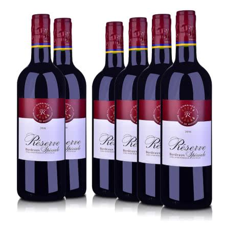 法国2016拉菲珍藏波尔多红葡萄酒750ml(6瓶装)