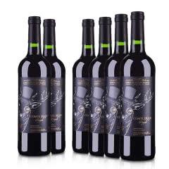 法国(原装原瓶进口)雄鹿伯爵干红葡萄酒750ml(6瓶装)