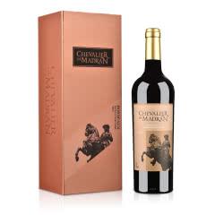 法国梦特骑士波尔多红葡萄酒750ml