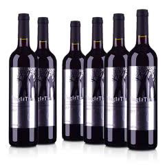 澳洲整箱红酒澳大利亚丁戈树赤霞珠干红葡萄酒750ml(6瓶装)