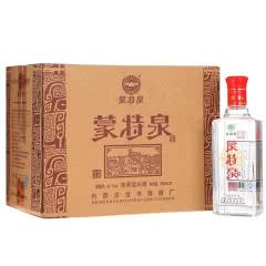 42°蒙特泉简装 浓香型白酒 500ml*12瓶整箱装