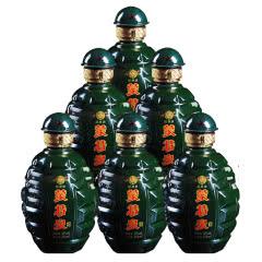 36°蒙特泉地雷瓶盒装 浓香型白酒 500ml*6瓶整箱装
