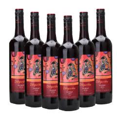 12.5°迪吉里特(神笛)西拉红葡萄酒干红750ml 6支装